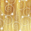 Golden stripes background — Stock Photo