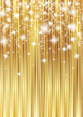 Golden stripes background — Foto Stock