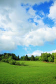 Beautiful Spring rural landscape — Stock Photo