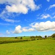 Scottish landscape with clouds in sky — Stock Photo #6406818