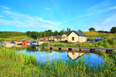 Forth and Clyde Canal, Scotland — Stock Photo