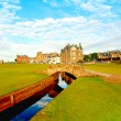 Swilcan Bridge, St Andrews - Stock Photo