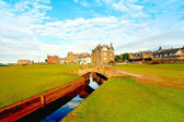 Swilcan bridge, st. andrews — Foto Stock