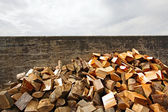 A pile of timber — Stock Photo