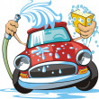 Car wash - Imagen vectorial