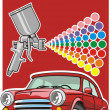 Royalty-Free Stock Vector Image: Car paint