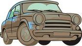 Dirty car — Stock Vector