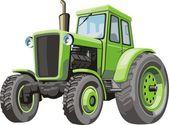 трактор — Cтоковый вектор