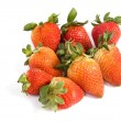 Strawberry fresh on isolated — Foto Stock