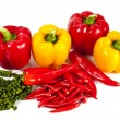 Mix chili and pepper — Stock Photo