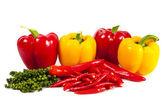 Mix chili and pepper — Stock Photo