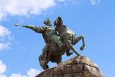 Monument to Bogdan Khmelnytsky in Kyiv, Ukraine — Stock Photo