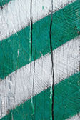 Fragment of painted wood — Stock Photo