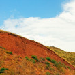 Landslide on the clay hill — Stock Photo #6146899