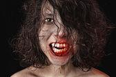 Portrait of a vampire — Stock Photo