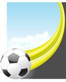 Poster soccer — Wektor stockowy