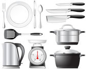 Kitchenware set — Stock Vector
