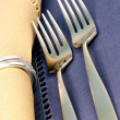 Fine silverware — Stock Photo