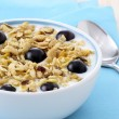 Stock Photo: Delicious and healthy granola