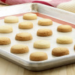 Stock Photo: Short bread cookies