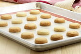 Short bread cookies — Stock Photo