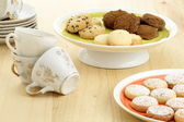 Delicious assorted cookies — Stock Photo