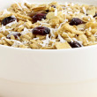 Fresh from the oven healthy granola — Stock Photo