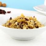 Healthy muesli breakfast — Stock Photo #6007942