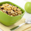 Healthy muesli breakfast — Stock Photo #6037373