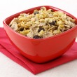 Healthy muesli breakfast — Stock Photo