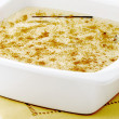Delicious rice pudding - Stock Photo