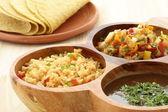 Delicious taco ingredients — Stock Photo