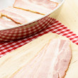 Cured delicious bacon — Stock Photo #6531119