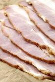 Curadas bacon delicioso — Fotografia Stock