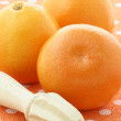 Fresh  healthy oranges - Stock Photo