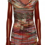 Stylish dress on mannequin — Stock Photo