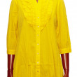 Stock Photo: Female yellow tunic