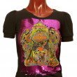 图库照片: Female t-shirt with print