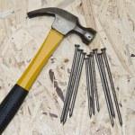 Hammer and nails — Stock Photo #6517425