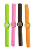Colorful wrist watch — Stock Photo