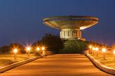 Coppa memorial chiamato il fuoco dell'eterna gloria — Foto Stock