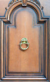 Modern door knock — ストック写真