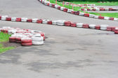 Karting track — Stock Photo