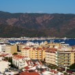 Stock Photo: Cityscape of Marmaris