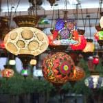 Turkish handmade lamps — Stock Photo #6731730