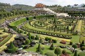 Nong Nooch Tropical Garden. — Stock Photo