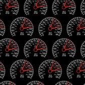 Seamless wallpaper speedometer — Stock Photo