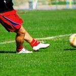 Soccer practice — Stock Photo #5381944