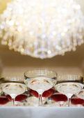 Champanhe casamento — Foto Stock
