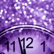 Purple New Year&#039;s abstract background - Stok fotoraf